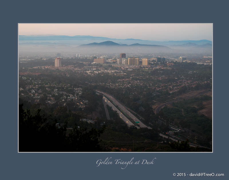 University City from Mt. Soledad, San Diego - July 12, 2009