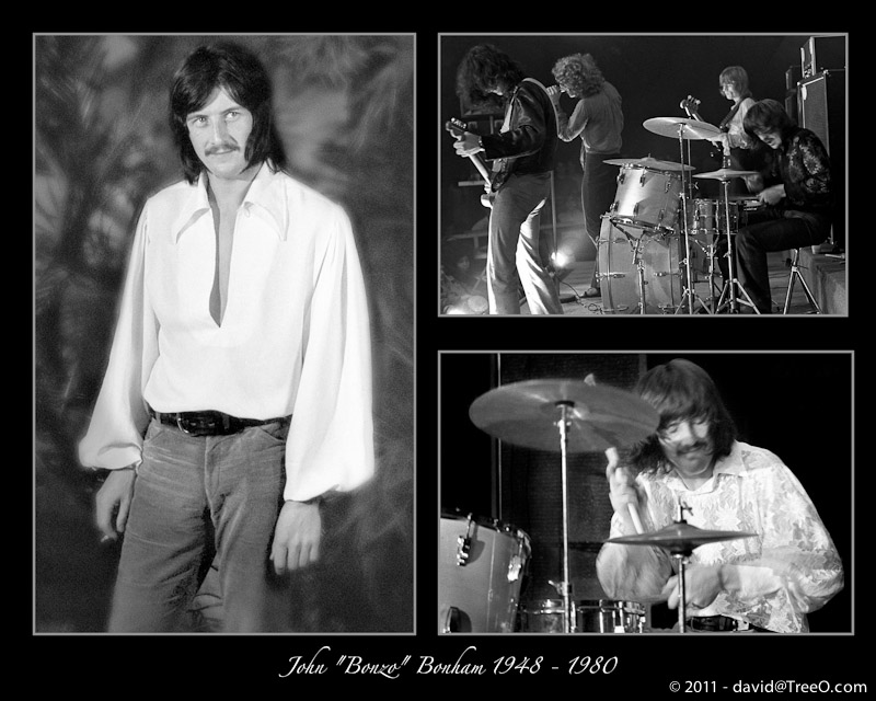 "John ""Bonzo"" Bonham - Thee Image Club, N. Miami Beach, Florida - February 15, 1969"