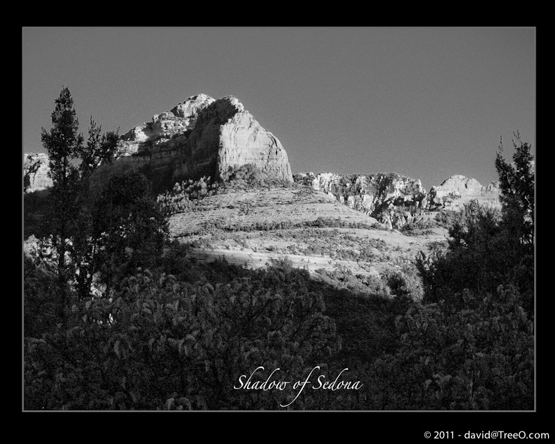 Shadow of Sedona - Sedona, Arizona - June 29, 2007