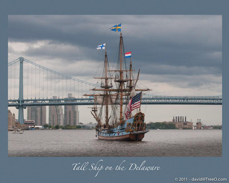 Tall Ship on the Delaware - Kalmar Nyckel - The Tall Ship of Delaware - Penn's Landing, Philadelphia, Pennsylvania - September 17, 2011