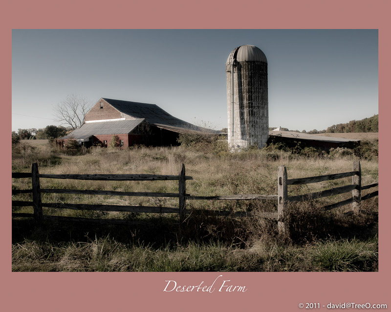 Deserted Farm - Northeast, Maryland - October 19, 2008