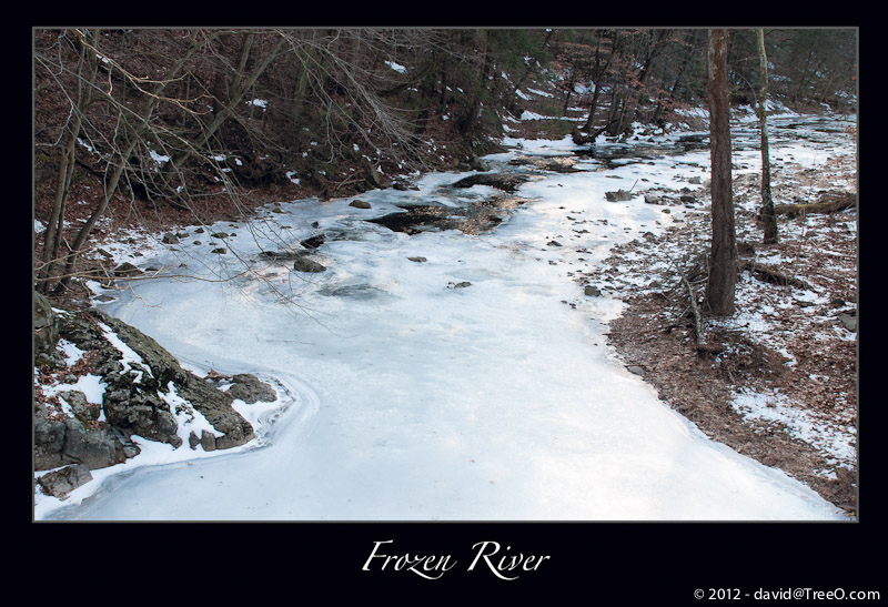 Frozen River - Bucks County, Pennsylvania - January6, 2011