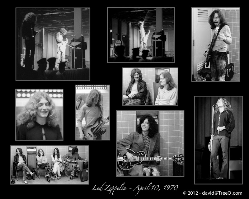 Led Zeppelin - April 10, 1970 - Miami Beach Convention Center, Miami Beach, Florida - April 10, 1970
