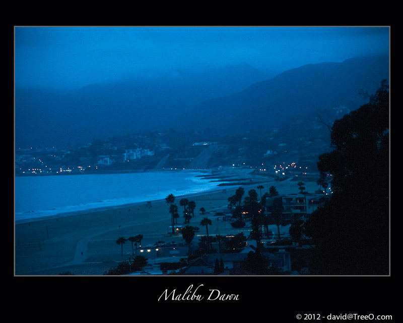 Malibu Dawn - Santa Monica, California – June 8, 2009