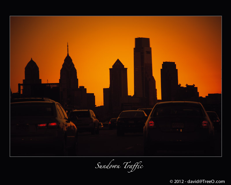 Sundown Traffic - Philadelphia, Pennsylvania - January 30, 2008