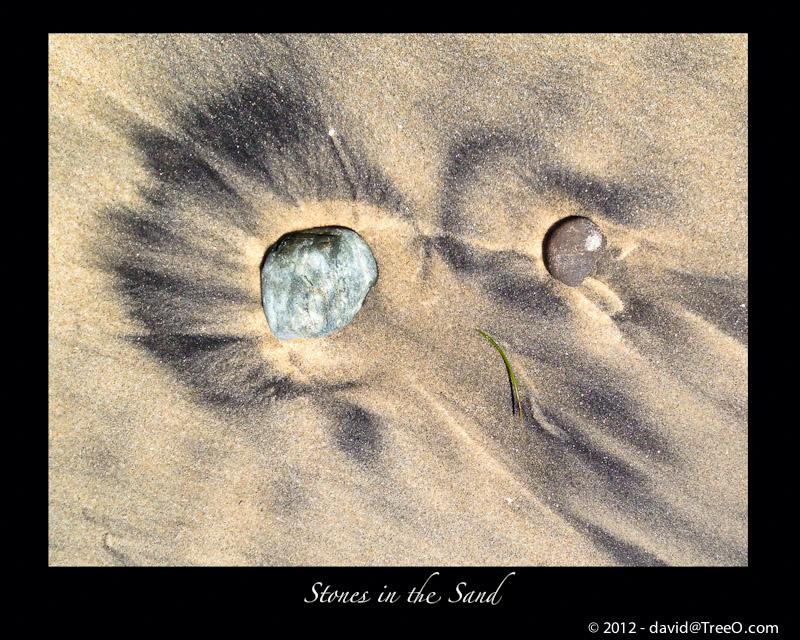 Stones in the Sand - Imperial Beach, California - June 21, 2012