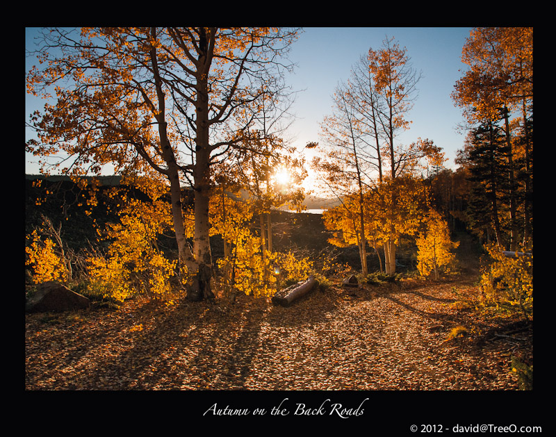 Autumn on the Back Roads - Southern Utah - October 2, 2012