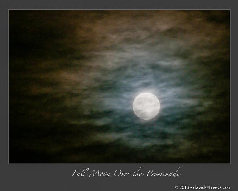 Full Moon Over the Promenade