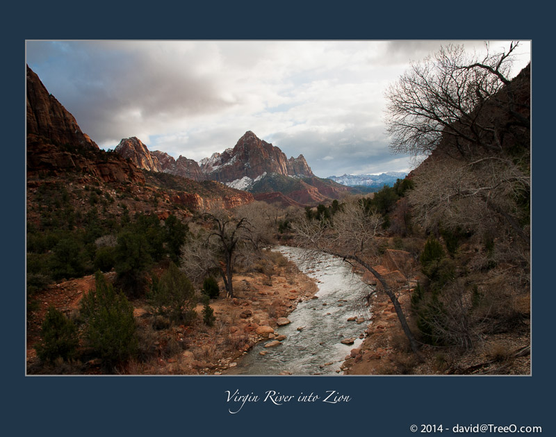 Virgin River into Zion