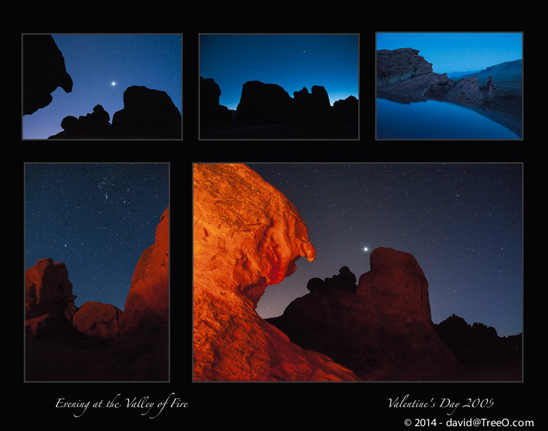 Evening at the Valley of Fire