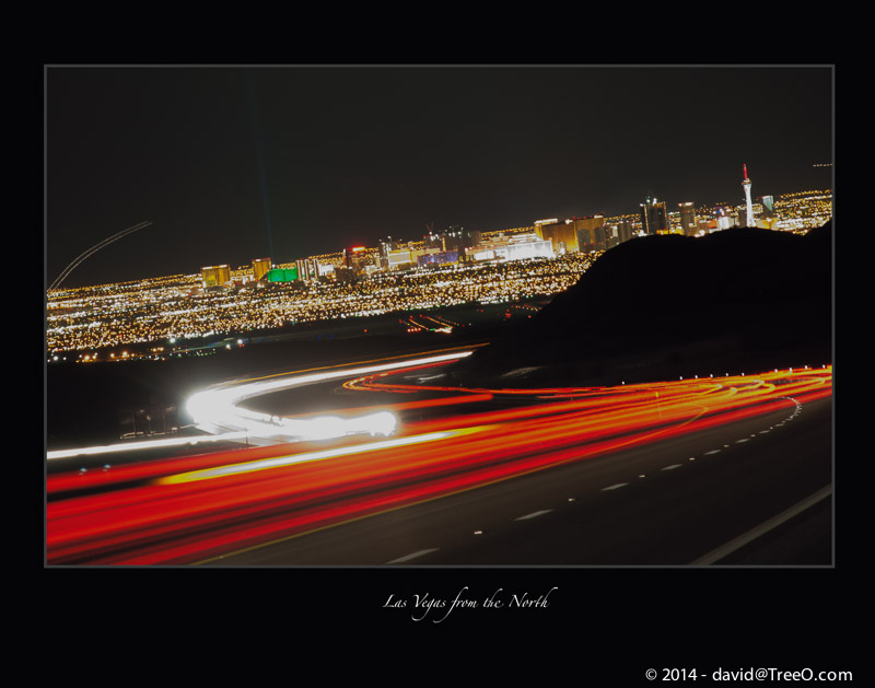 Las Vegas from the North