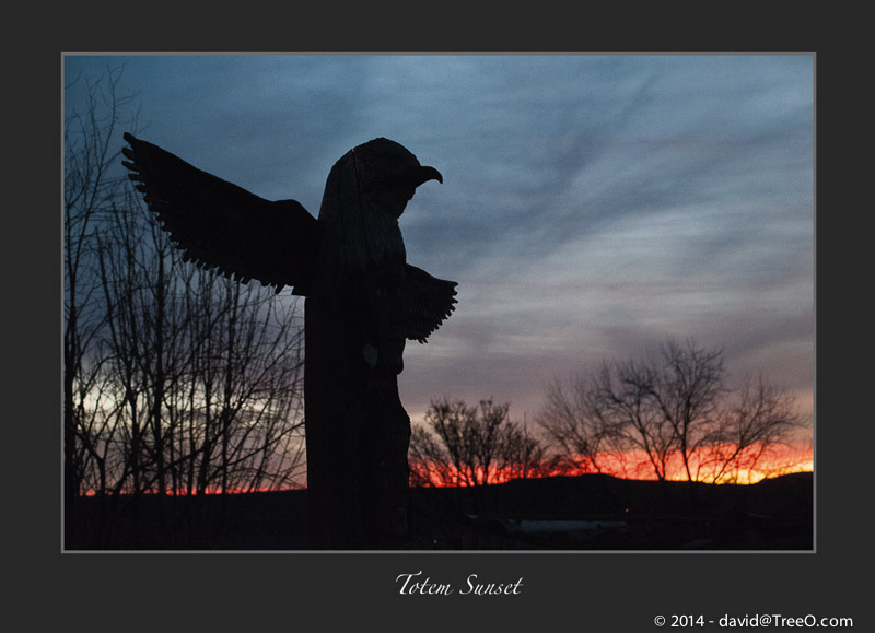 Totem Sunset
