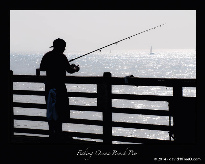 Fishing Ocean Beach Pier