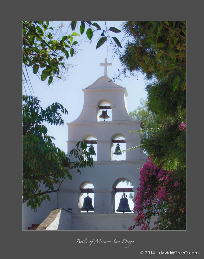 Bells of Mission San Diego
