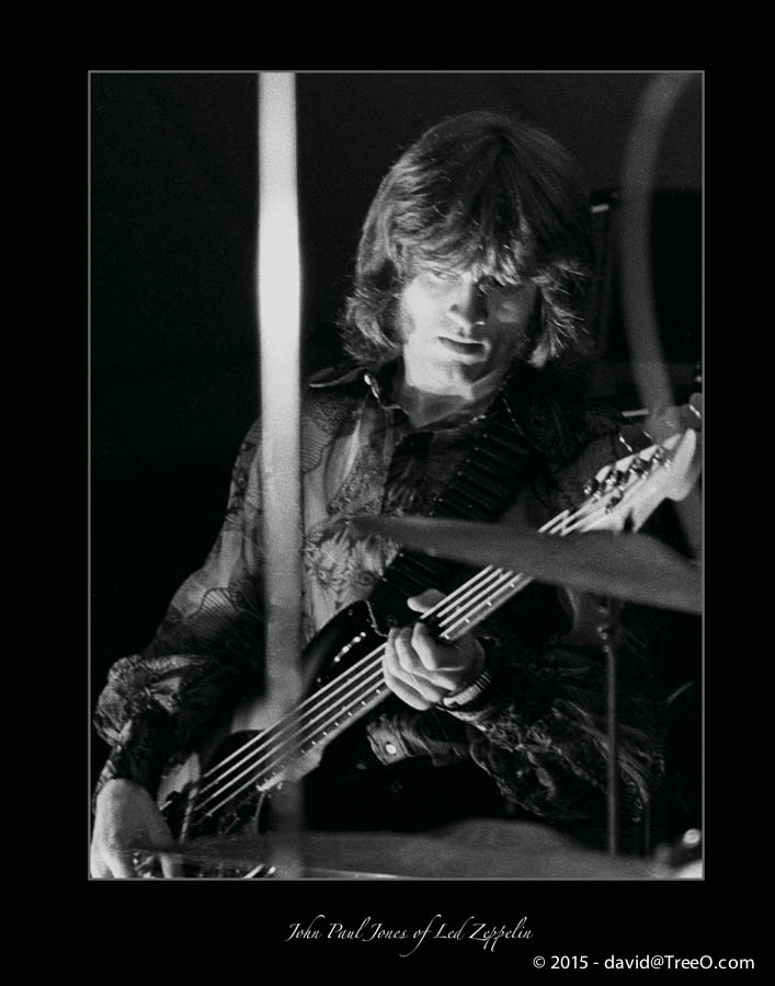 John Paul Jones of Led Zeppelin
