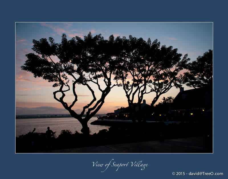 Seaport Village, San Diego, California - July 24, 2009