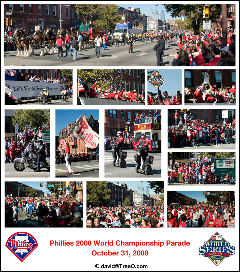 Phillies Parade