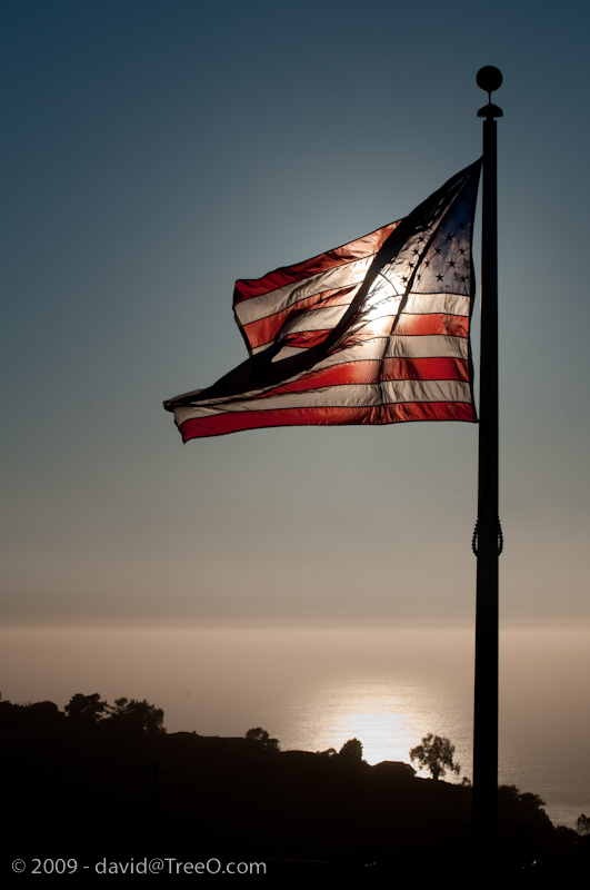 In Honor of My Father, Flag Over the Pacific