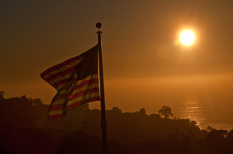 Flag Over the Pacific
