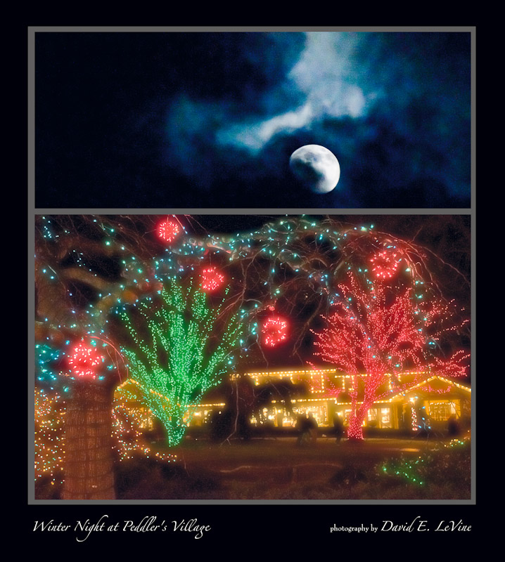 Winter Night at Peddler's Village