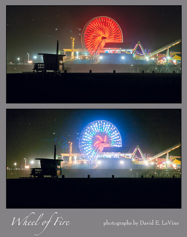 Santa Monica Wheel of Fire