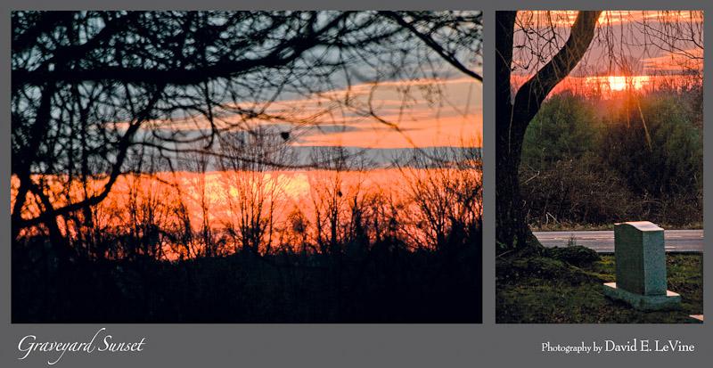 Graveyard Sunset