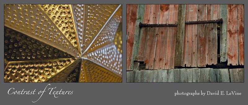 Contrast of Textures