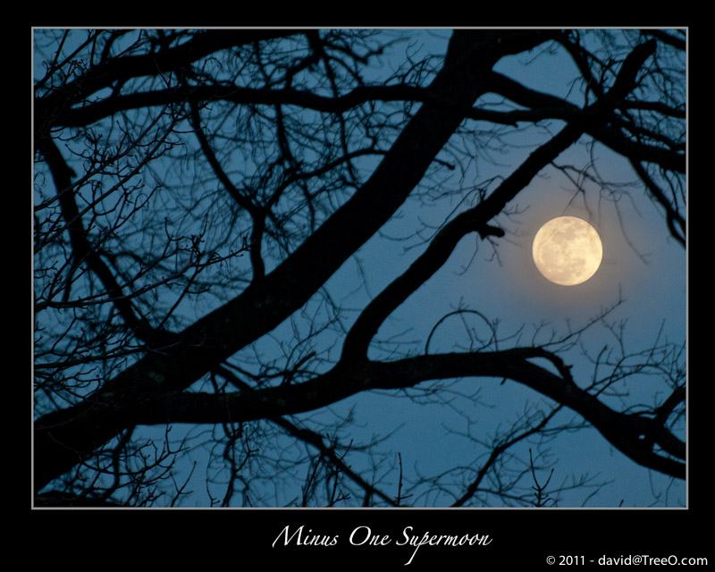 Minus One Supermoon