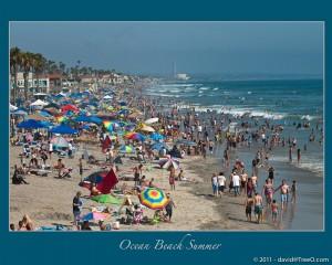 Ocean Beach Summer - Ocean Beach, California - July 18, 2009