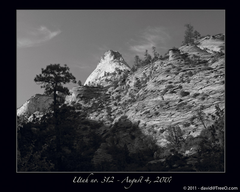 Black & White Photograph – Utah no. 312