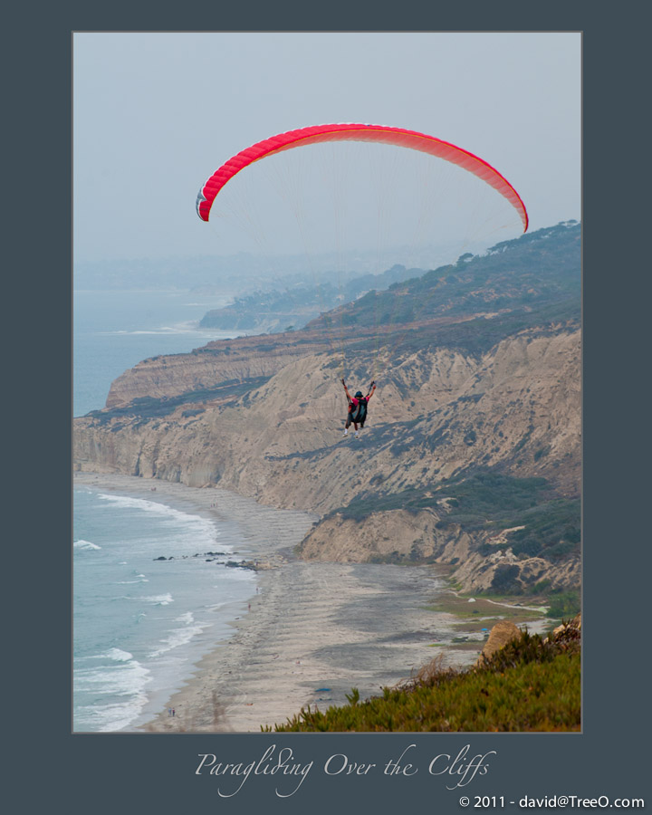 Paragliding Over the Cliffs