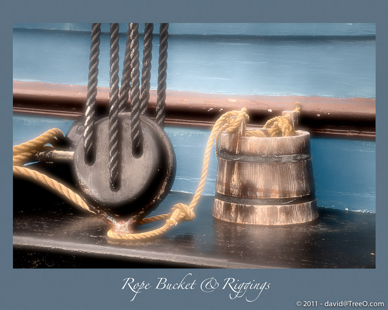 Rope Bucket & Riggings