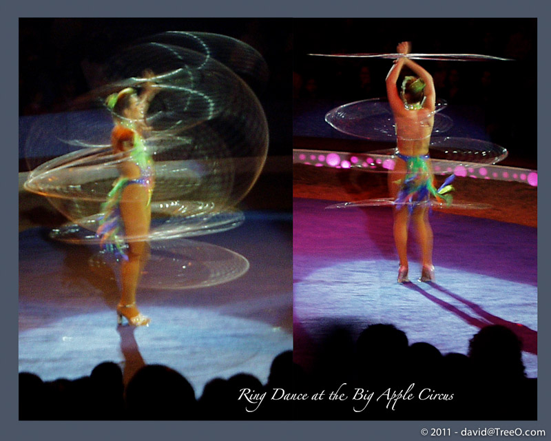Ring Dance at the Big Apple Circus