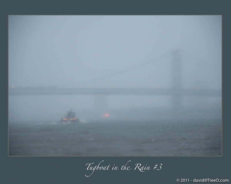 Tugboat in the Rain no.3