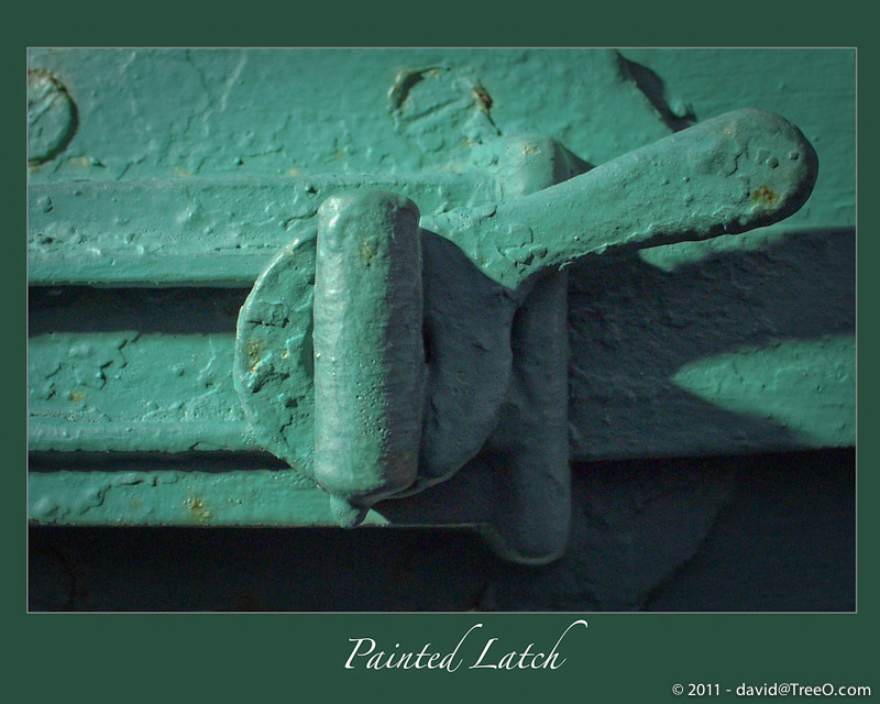 Painted Latch