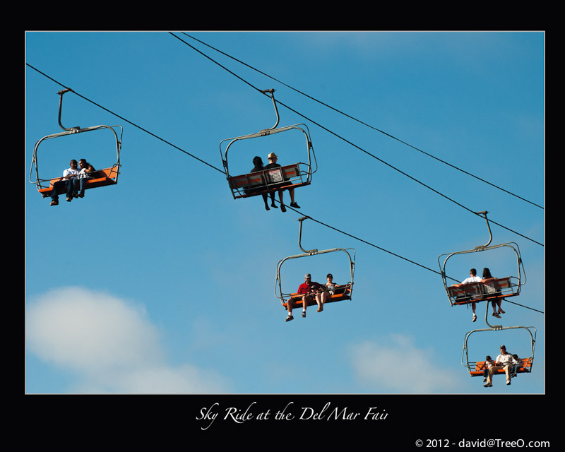 Sky Ride at the Del Mar Fair