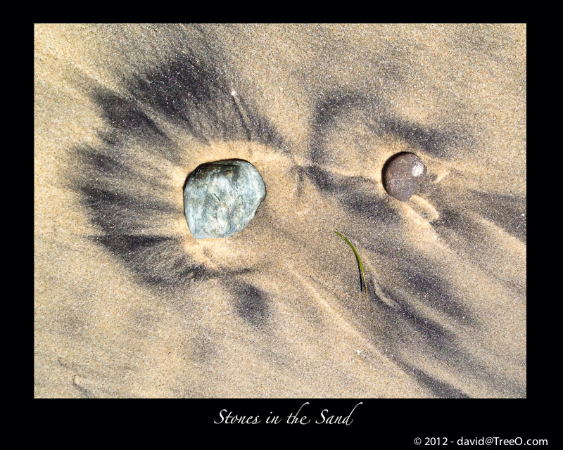 Stones in the Sand