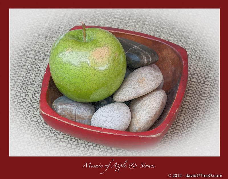 Mosaic of Apple & Stones