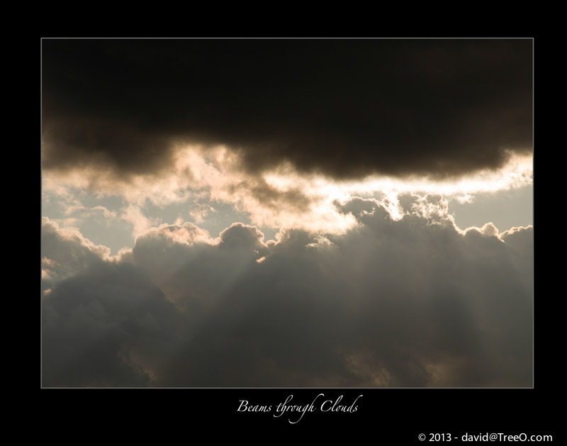 Beams through Clouds