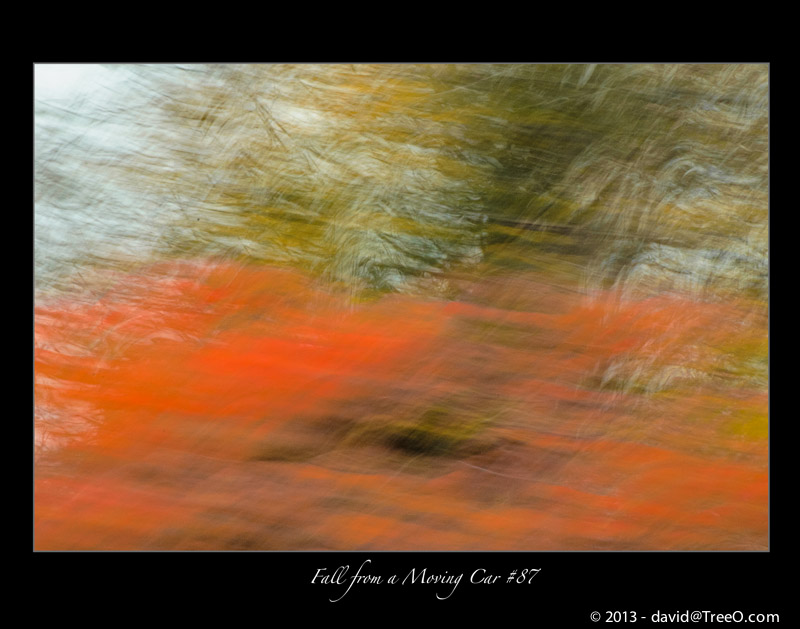 Fall from a Moving Car #87