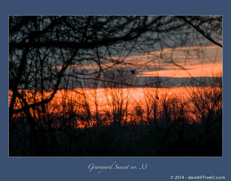 Graveyard Sunset no. 33