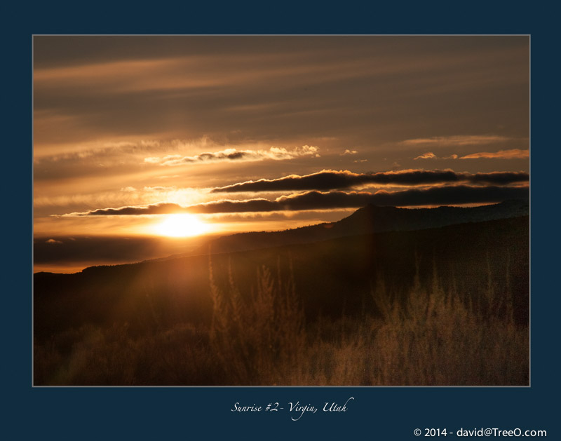 Sunrise #2 – Virgin, Utah