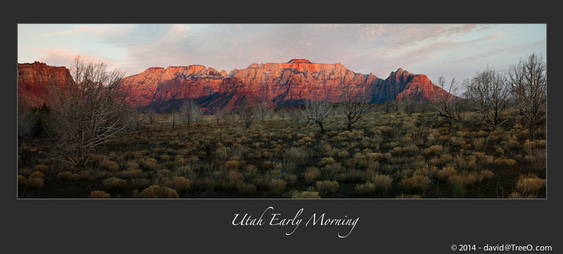Utah Early Morning