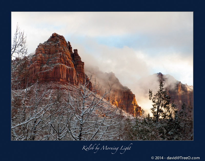 Kolob by Morning Light