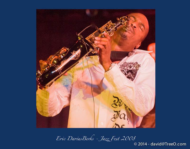 Eric Darius – Berks Jazz Fest 2008