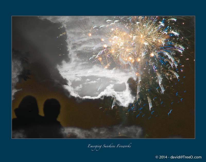 Emerging Sunshine Fireworks