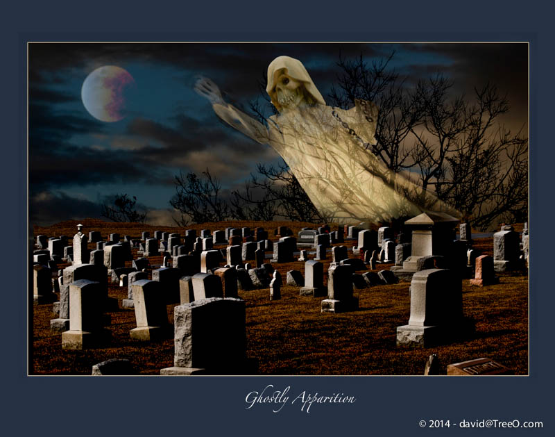 Happy Halloween – Ghostly Apparition
