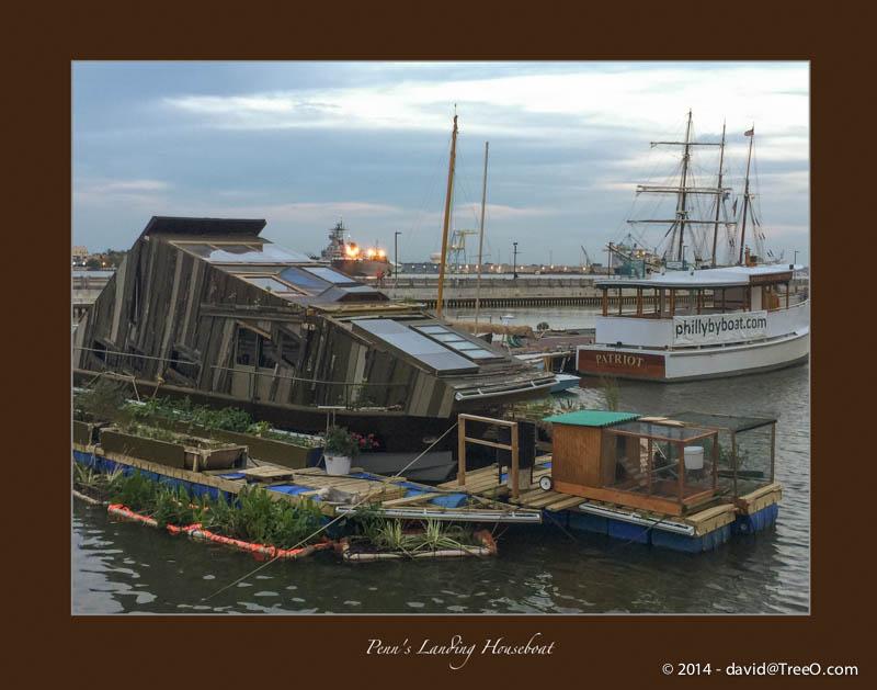 Penn's Landing Houseboat