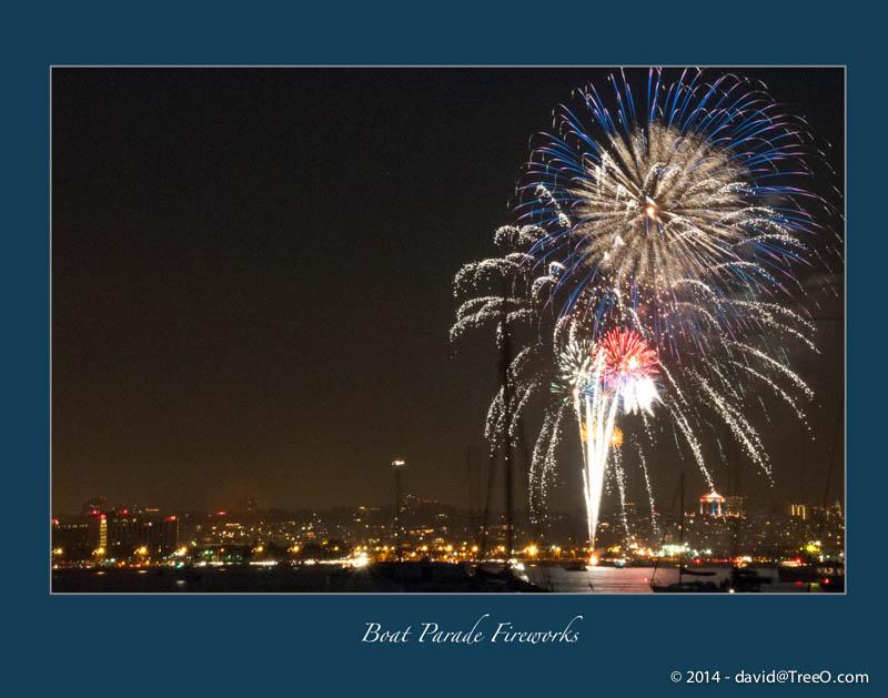 Boat Parade Fireworks