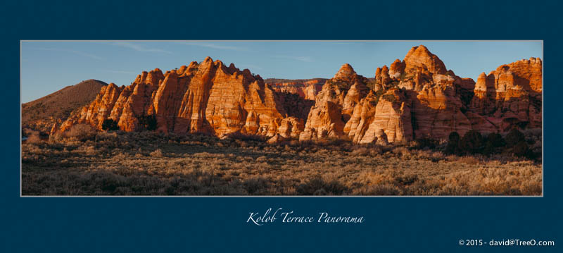 Kolob Terrace Panorama